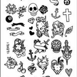 Пластина для штампа Tattoo